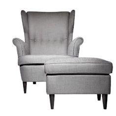 Ikea modern wingback chair