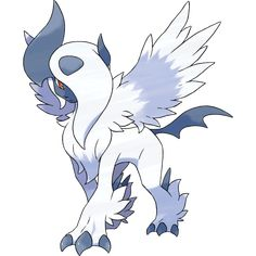Pokémon X & Y- Mega Absol- -When Absol undergoes Mega Evolution, it becomes Mega Absol. Pokemon Go, Pokemon Legal, Pokemon Zoroark, Photo Pokémon, Mega Evolution Pokemon, Pokemon Original, Pokemon Pictures, Digimon, Oeuvre D'art