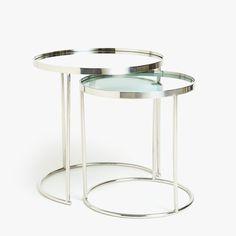 2 produkto paveikslėlis Apvalus staliukas (dviejų dalių komplektas)