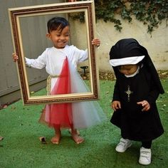 """EWTN on Instagram: """"Instead of dressing up as ghouls, goblins, or gory monsters, encourage your kids to dress as SAINTS or HOLY PEOPLE for #Halloween! More…"""""""