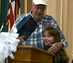 8-Year-old Girl Wouldn't Stop Until Elderly Soldier Got His Medals.
