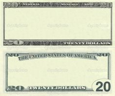Photo about Clear 20 dollar banknote pattern for design purposes. Image of business, message, dollar - 20540934 Dollar Money, 100 Dollar, Dollar Bills, Fake Money Printable, Play Money Template, Secret Websites, Payroll Template, Twenty Dollar Bill, Hologram Printing