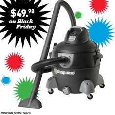 We're gearing up for Black Friday with an awesome deal on this Shop-Vac.