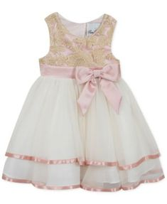 1218e66abfff Rare Editions Toddler Girls Embroidered Fit   Flare Party Dress   Reviews -  Dresses - Kids - Macy s