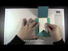 Fun Fold Tutorial with Banner Framelits - cute card with 4 bonus card ideas at the end all using the Perfect Pennants Stamp Set!