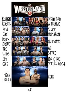 """""""Wrestlemania 2016"""" by thevictoriaskai ❤ liked on Polyvore featuring art"""