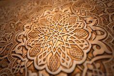 Arabesque - Alhambra, Spain. © islamic-arts.org