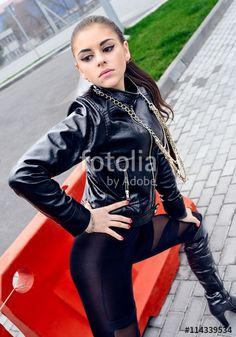 Have thought sexy latex girl high heels will