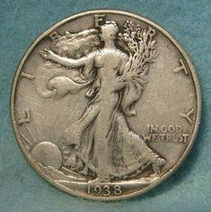 Walking Liberty Half Dollar US Coin San Francisco