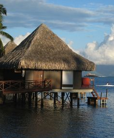 It doesn't get more iconically French Polynesian than an overnight stay in an overwater bungalow in Tahiti.