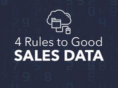 4 Rules to Good Sales Engagement Data