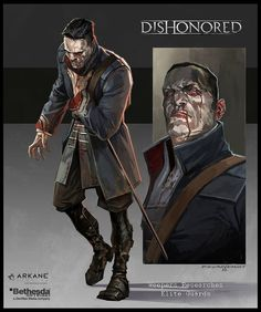Dishonored-Elite Research, Cedric  Peyravernay on ArtStation at https://www.artstation.com/artwork/dishonored-elite-research