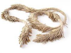 Susanne Matsché: Rapunzel - leather, textile, silver, shell, fur