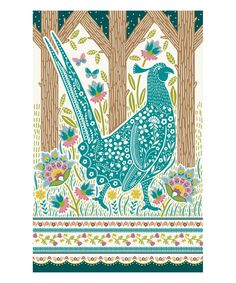 Take a look at this Woodland Pheasant Tea Towel today!
