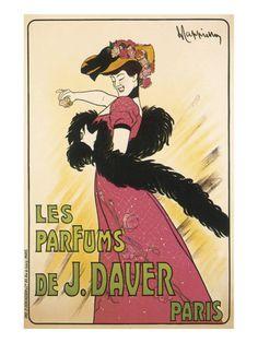 Les Parfums de J. Davier Premium Giclee Print