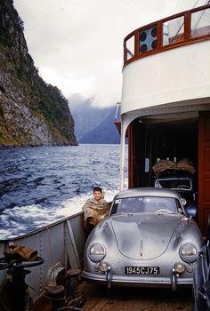 Porsche 356 Speedster, Porsche 550, Porsche Models, Porsche Cars, Volkswagen Bus, Vw Camper, Volkswagen Beetles, Vintage Racing, Vintage Cars