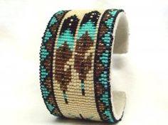 Thumbnail of Southwestern Beaded Cuff Bracelet 1671
