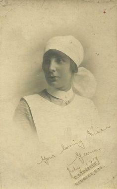 Nurse Gwen Newport,Mon July 1919 | Flickr - Photo Sharing!