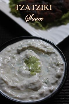 YUMMY TUMMY: Tzatziki Sauce Recipe - Greek Cucumber Yogurt Sauce Recipe