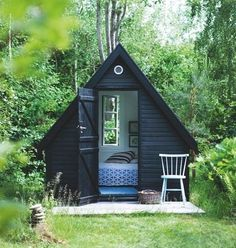 Not for a day bed, or even a tiny house, but for a tiny office in which I could write and look out on the world! ~M x