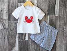Boy's Crab Short Set $13.50