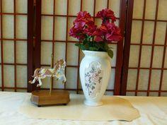 Vintage Large Floral  FTD  Vase Jug Jardiniere by Vintage42Day, $28.00
