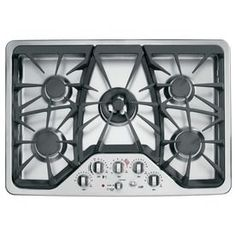 GE Cafe 5-Burner Gas Cooktop (Stainless) (Common: 30-in; Actual 30-in) - FINAL