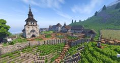 Early Medieval Monastery [Conquest Reforged] Minecraft Project