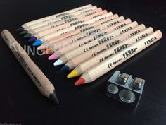 1 x LYRA FERBY CHUNKY TRIANGULAR JUMBO PENCILS & 12 PENCIL CRAYONS KIDS SCHOOL in Home, Furniture & DIY, Stationery & School Equipment, Pens & Pencils | eBay