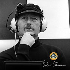 Colin Chapman F1 Lotus Brain and Constructor
