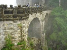 Ancient Bridge, Saxon Switzerland, Germany
