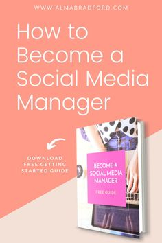 Do you want to work from home as a social media manager helping small businesses? This is a very profitable business that you work from home or anywhere in the world. Download this FREE guide to learn more.