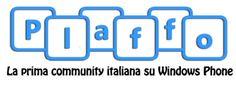All you need is blog: Antonino Ardizzone. Plaffo, la prima community on line per gli appassionati di Windows Phone