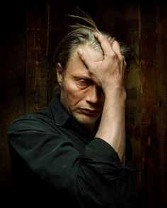 Mads & Hannibal — ugh- I feel you mads (x) It's Hannibal night in...