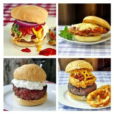 Burger boredom? Looking for a little flavor inspiration. From Kung Pao Grilled Chicken Burgers to Cheddar & Smoked Paprika Burgers, Rock Recipes has you covered.