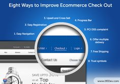 Eight Ways to Improve Ecommerce Check Out