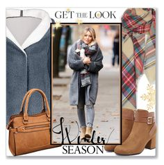 """Celebrity Outfit :: Get the Look :: Street Style"" by jecakns ❤ liked on Polyvore"