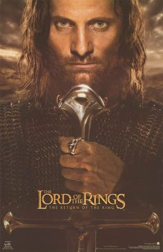 A great poster of Aragorn (Viggo Mortensen) from Lord of the Rings: Return of the King! An original published in 2003. Fully licensed. Ships fast. 22x34 inches. Check out the rest of our amazing selec