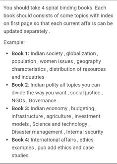 Strategy to take notes on Current Affairs.