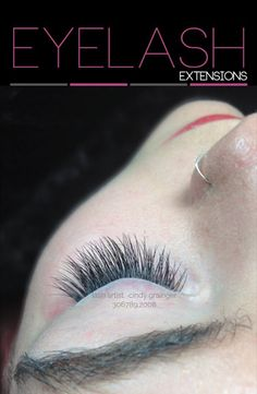 Close up Picture of McKenzi's Eyelash Extensions Regina.  These are Classic 1 D Eyelash Extensions designed by Eyelash Extensions Artist, Cindy Grainger located in Regina, Sk. Canada.  To view more Eyelash Extensions Before and After Pictures:   http://www.cheregaterienailspa.com/eyelash-extensions-before-after/