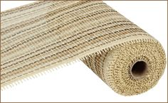 "NEW 2013 - 10"" X 10 YD WOVEN PAPER MESH - MULTI BEIGE #paper #mesh #beige #10inch"