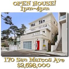 TODAY! You and me and this beauty makes three! . 4 bedrooms, 4.5 baths, a 2 car garage, 3272 sq feet and a $2,698,000 price tag make her a MUST see! See you there! 1pm-4pm!