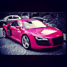 Gloss pink R8! Perfect for the girlfriend!