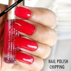 Ways to Prevent Nail Polish Chipping