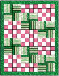 New Year's resoluion: sew a quilt! Then another! Love this easy pattern