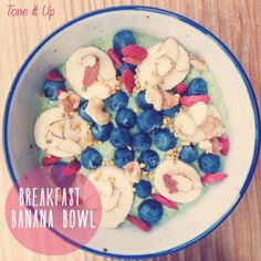 Check out this yummy Breakfast Banana Bowl! It's the PERFECT way to start your day!!!