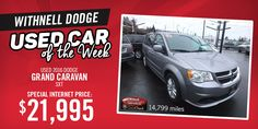 Check out our Used Car of the Week! Visit our website or give us a call for more details!