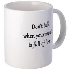 Dont talk Mugs on CafePress.com