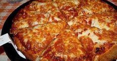 Nem kell tésztát gyúrni, így bárki könnyedén elkészítheti. Ízlés szerint bármilyen feltét kerülhet rá, ezért mindig más ízű lehe... I Love Pizza, Pizza You, Perfect Pizza, Good Pizza, Pizza Pizza, Flatbread Pizza, Pizza Party, Pizza Recipes, Cooking Recipes