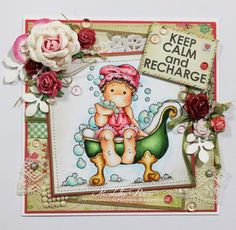 I Love Scrapbooking: Relax... Keep calm and recharge!